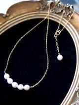 (14kgf)高級アコヤ真珠のネックレス 6mm