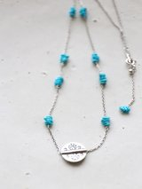 SILVER925 turquoisepierce necklace