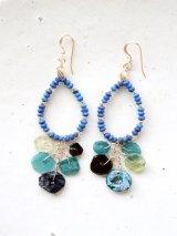 (14kgf) lapis lazuli roman glasspierce