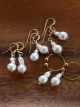 14KGF pearl pierce