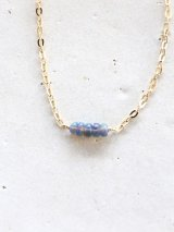 14KGF blackopal necklace