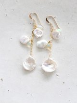 14KGF keshi pearl pierce
