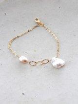14KGF pearl bracelet