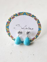 SILVER925  turquoise  pierce