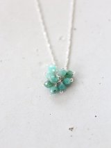 SILVER925 emerald necklace