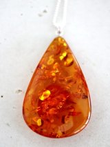 SILVER925 amber necklace