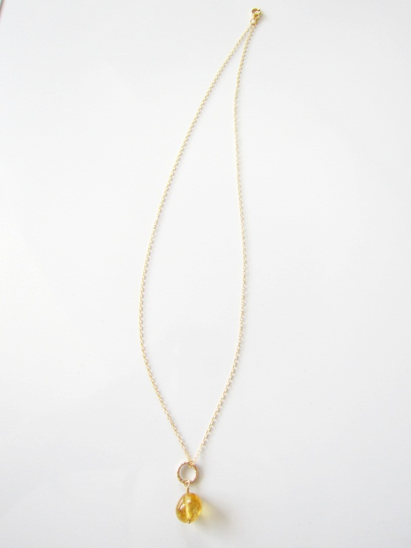 画像3: (14kgf) 3色 水晶 美しい染め一粒ネックレス