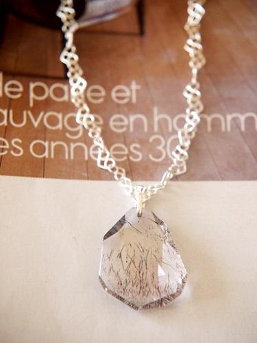 画像1: (silver925)スーパーセブンのペンダント(45cm)
