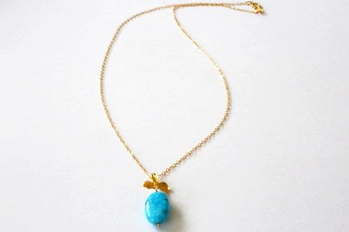 画像3: (14kgf) kingman Turquoise ネックレス(45cm)