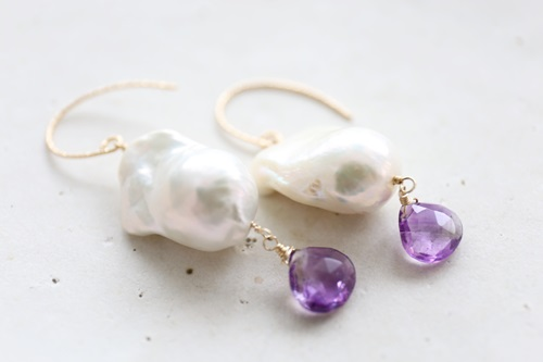 画像2: 14KGF superseven baroque pearl pierce