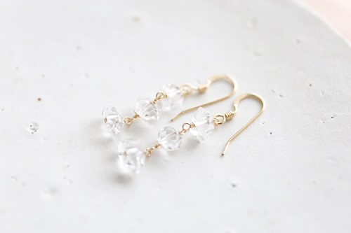 画像2: 14KGF Wpoint quartz pierce