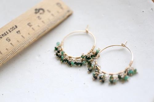 画像2: 14KG emerald  pierce