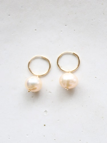 画像1: 14KGF pearl pierce