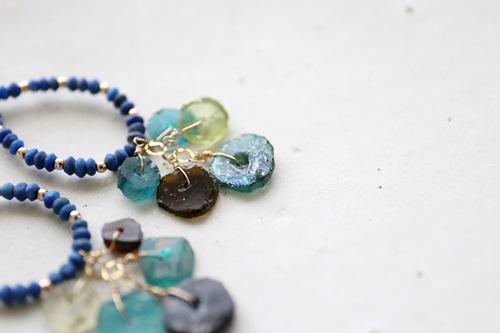 画像3: (14kgf) lapis lazuli roman glasspierce