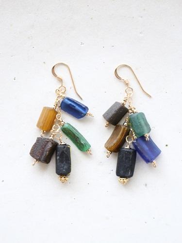 画像1: (14kgf) lapis lazuli roman glasspierce