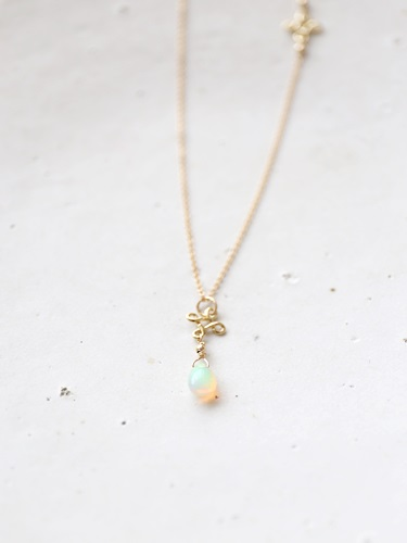 画像2: 14KGF opal necklace