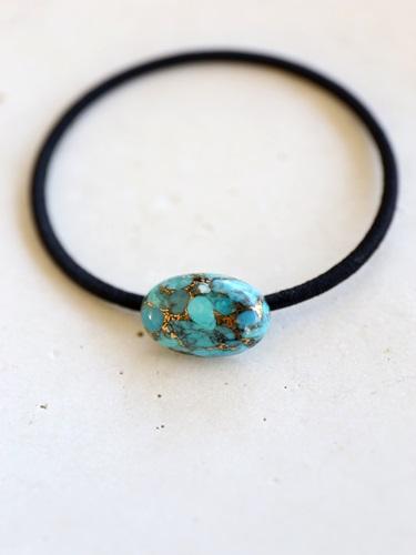 画像1: copperturquoise hair ornaments