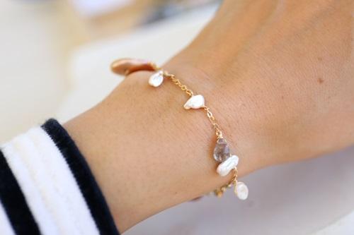画像3: 14KGF malch bracelet