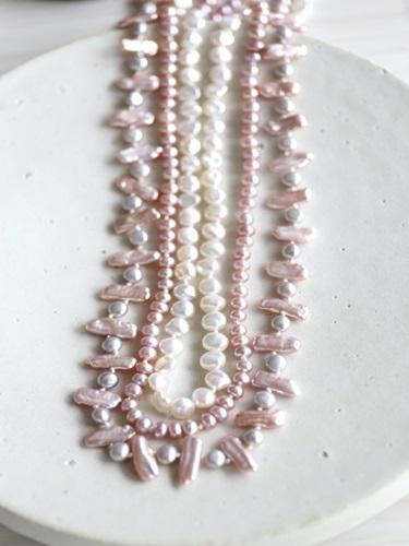 画像1: longlong pearl necklace