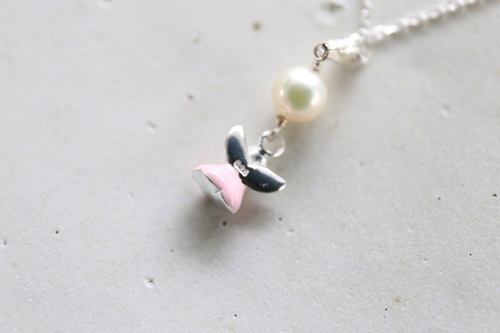 画像3: SILVER925 angel pearl necklace [nc335]