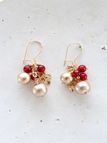 画像1: (14kgf) goldpearl amberpierce