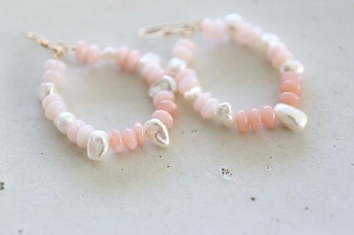 画像3: 14KGF  pinkopal pierce