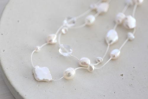 画像4: long long pearl necklace