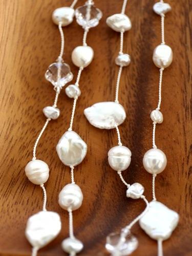 画像3: long long pearl necklace