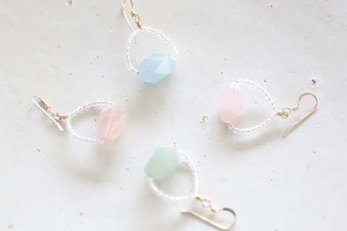 画像2: 14KGF pastel color pierce