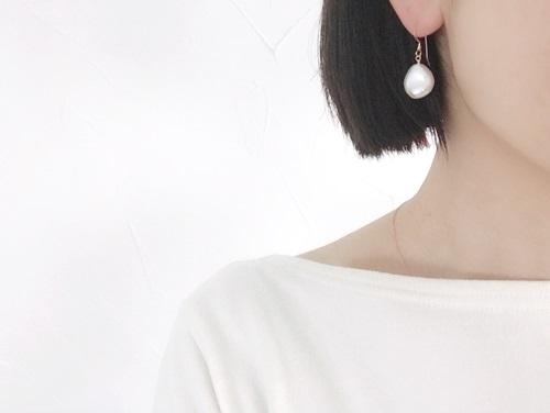 画像4: 14KGFcoin pearl pierce