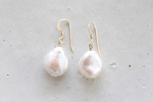 画像2: 14KGFcoin pearl pierce