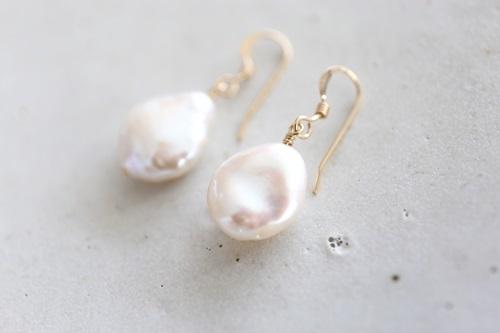 画像3: 14KGFcoin pearl pierce