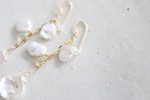 画像3: 14KGF keshi pearl pierce