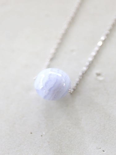 画像1: SILVER925 bluerace necklace