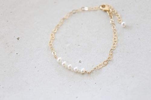 画像3: 14KGFopal pearl bracelet