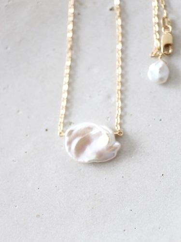画像2: 14KGF pearl necklace