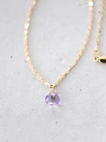 画像2: 14KGF pinkamethyst necklace