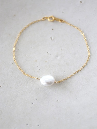 画像2: 14KGF pearl bracelet