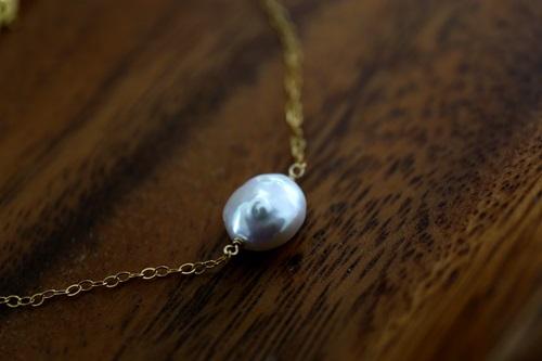 画像3: 14KGF pearl bracelet