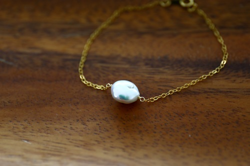 画像4: 14KGF pearl bracelet