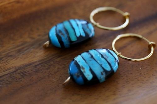 画像3: turquoise pierce