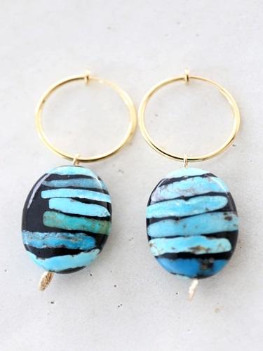画像1: turquoise pierce