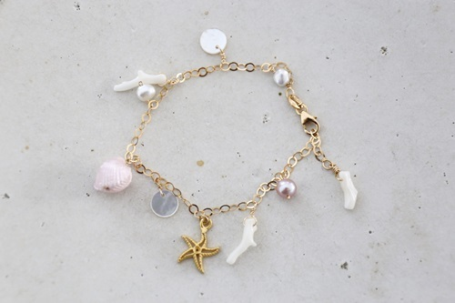 画像2: 14KGFsea bracelet