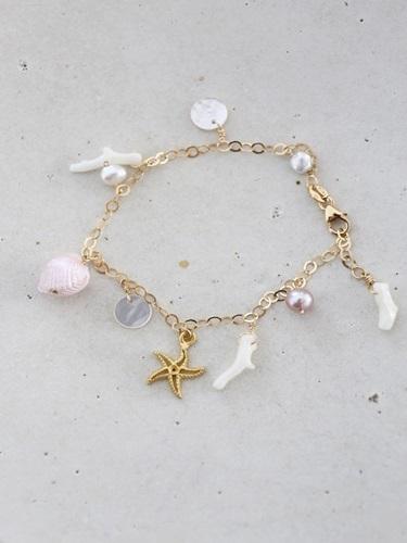 画像1: 14KGFsea bracelet