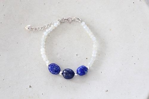 画像2: SILVER925 lapis lazuli   bracelet