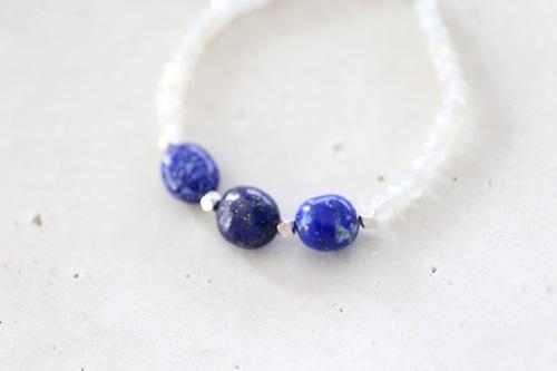 画像3: SILVER925 lapis lazuli   bracelet