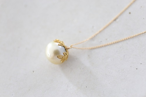 画像4: 14KGF south sea pearl necklace