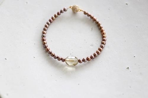 画像2: smoky quartz bracelet