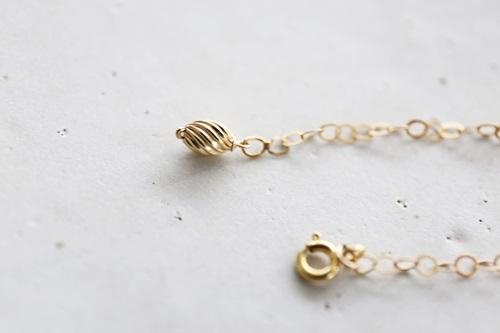 画像3: 14KGF amber bracelet