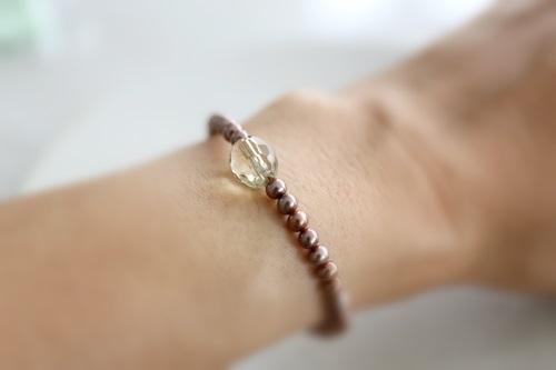 画像3: smoky quartz bracelet